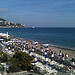 Nice plage : beau rivage par russian_flower - Nice 06000 Alpes-Maritimes Provence France