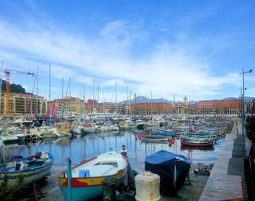 Le vieux port de Nice par JB photographer