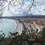 Anse de la plage de Nice by  - Nice 06000 Alpes-Maritimes Provence France