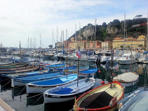 Vieux bateaux de pêche à Nice par JB photographer