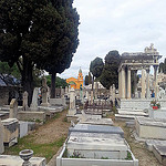 Christian colour beyond the Jewish cemetery by JB photographer - Nice 06000 Alpes-Maritimes Provence France