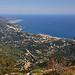 Rivage méditerranéen - vu du Mont-Agel by Charlottess - Peille 06440 Alpes-Maritimes Provence France