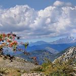 Vue du Mont-Agel vers les Alpes par  - Peille 06440 Alpes-Maritimes Provence France