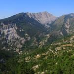 Rigaud vue de Lieuche - 06 par bernard BONIFASSI - Rigaud 06260 Alpes-Maritimes Provence France