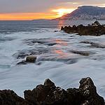 Cap Martin au coucher du soleil by jdufrenoy - Roquebrune Cap Martin 06190 Alpes-Maritimes Provence France
