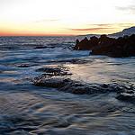 Cap Martin au crépuscule par jdufrenoy - Roquebrune Cap Martin 06190 Alpes-Maritimes Provence France