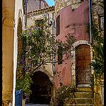 Ruelle antique à Roquebrune par DHaug - Roquebrune Cap Martin 06190 Alpes-Maritimes Provence France