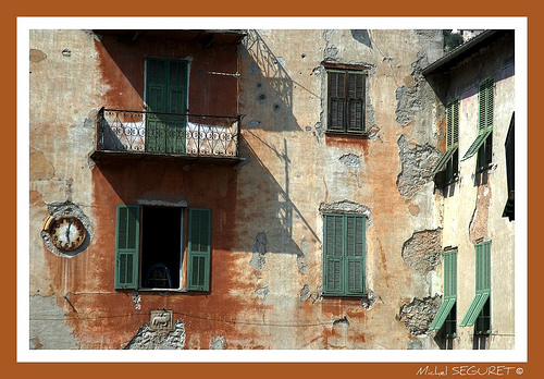 Vieilles façades @ Sospel (06) par michel.seguret