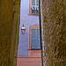 Façade rose et  bleu - Sospel by Charlottess - Sospel 06380 Alpes-Maritimes Provence France