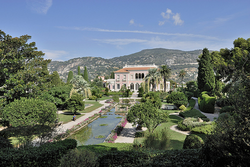 Villa Ephrussi de Rothschild et son parc par pizzichiniclaudio