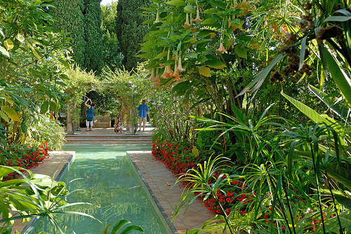 Jardin incroyable de la villa ephrussi de rothschild st jean cap ferrat alpes maritimes we - Jardins ephrussi de rothschild ...
