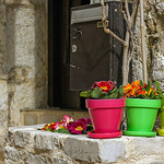 Couleurs - Saint-Paul de Vence by sallyheis - Saint-Paul de Vence 06570 Alpes-Maritimes Provence France