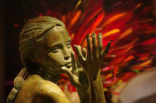 Galerie d'art à Saint Paul de Vence par Morpheus © Schaagen