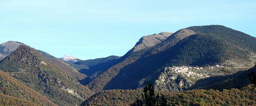 Randonnée dans l'arrière pays niçois par bernard BONIFASSI