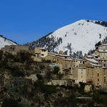 Thiery sous la neige by bernard BONIFASSI - Thiery 06710 Alpes-Maritimes Provence France