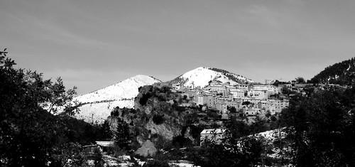 Village de Thiery sous la neige par bernard BONIFASSI