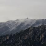 Neige et brouillard au Mont Vial par bernard BONIFASSI - Toudon 06830 Alpes-Maritimes Provence France