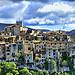 """Les maisonnettes en mode """"tetris"""" de Tourrettes-sur-Loup par marty_pinker - Tourrettes sur Loup 06140 Alpes-Maritimes Provence France"""