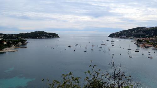 La rade de Villefranche sur Mer par bernard.bonifassi