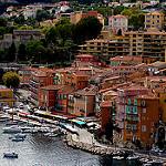 Les immeubles ocre de Villefranche sur Mer par bernard.bonifassi - Villefranche-sur-Mer 06230 Alpes-Maritimes Provence France