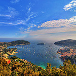 La rade de Villefranche sur Mer by  - Villefranche-sur-Mer 06230 Alpes-Maritimes Provence France