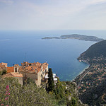 Seascape - View of Èze and Mediterranean Sea by skyduster4 - Eze 06360 Alpes-Maritimes Provence France