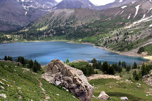 Randonnée autour du Lac D'allos par J.P brindejonc