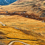 Route de la Bonette : vue depuis le col de la bonette par moni-h -   Alpes-de-Haute-Provence Provence France