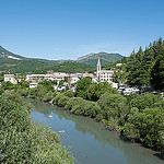 Le petit village de Castellane sur le Verdon par Petra's nature photography - Castellane 04120 Alpes-de-Haute-Provence Provence France
