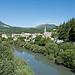 Le petit village de Castellane sur le Verdon par  - Castellane 04120 Alpes-de-Haute-Provence Provence France