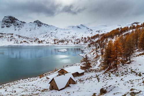 Lac d'Allos - Entre 2 saisons par Frédéric Woiltock