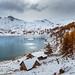 Lac d'Allos - Entre 2 saisons par Frédéric Woiltock - Castellane 04120 Alpes-de-Haute-Provence Provence France