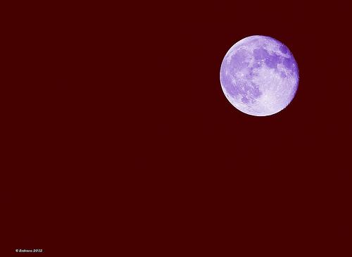 Pleine lune le 1er octobre par Babaou
