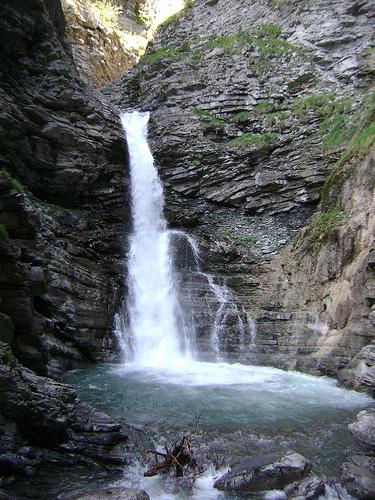 Cascade de la Lance, Colmars les Alpes par Hélène_D