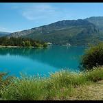 Lac artificiel de Castillon par Patchok34 - Demandolx 04120 Alpes-de-Haute-Provence Provence France