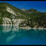 Le Lac de Castillon by Patchok34 - Demandolx 04120 Alpes-de-Haute-Provence Provence France