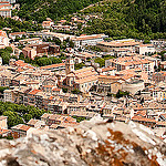 Les toits de la Ville de Digne-les-Bains par solo-graphique - Digne les Bains 04000 Alpes-de-Haute-Provence Provence France