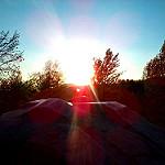 Sunset statue par  - Digne les Bains 04000 Alpes-de-Haute-Provence Provence France