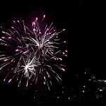 Feu d'artifice du 14 Juillet 2017 à Digne les Bains par Sebmanstar - Digne les Bains 04000 Alpes-de-Haute-Provence Provence France