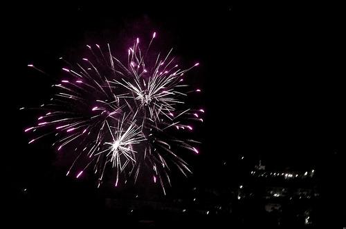 Feu d'artifice du 14 Juillet 2017 à Digne les Bains par Sebmanstar