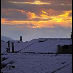 Toits enneigés de Digne les Bains par Michel-Delli - Digne les Bains 04000 Alpes-de-Haute-Provence Provence France