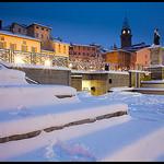 Digne les Bains sous la neige par  - Digne les Bains 04000 Alpes-de-Haute-Provence Provence France