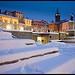 Digne les Bains sous la neige by Michel-Delli - Digne les Bains 04000 Alpes-de-Haute-Provence Provence France