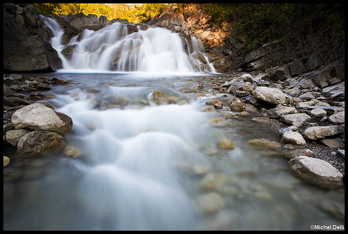 Torrent des Eaux Chaudes by Michel-Delli