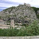 Entrevaux et sa citadelle by  - Entrevaux 04320 Alpes-de-Haute-Provence Provence France