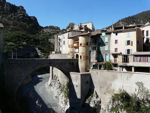 Pont sur le Var by myvalleylil1