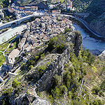 Citadelle d'Entrevaux by  - Entrevaux 04320 Alpes-de-Haute-Provence Provence France