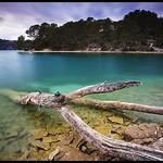 Lac d'Esparron de Verdon par  - Esparron de Verdon 04800 Alpes-de-Haute-Provence Provence France