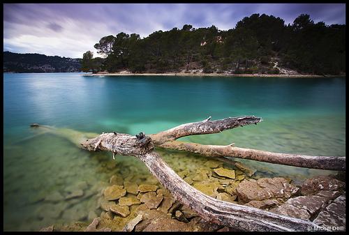 Lac d'Esparron de Verdon by Michel-Delli