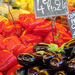 Glowing colorful vegetables by Qtune - Forcalquier 04300 Alpes-de-Haute-Provence Provence France